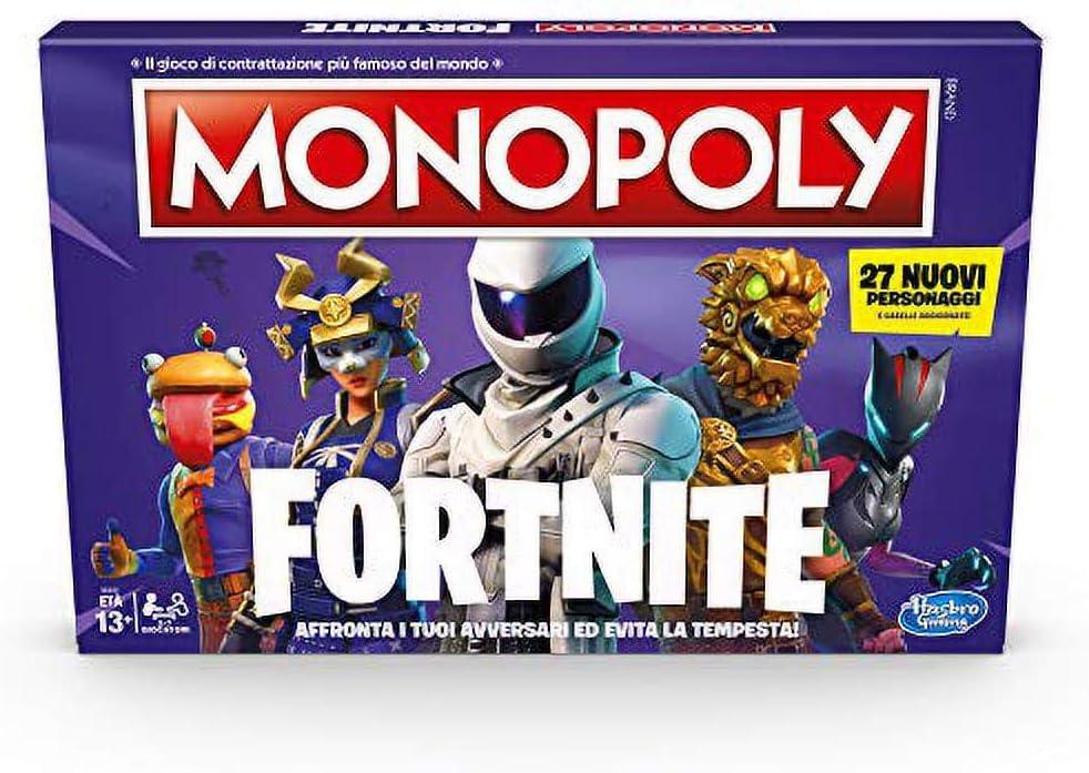Monopoly Fortnite (Juego en Caja, Temporada 2, edición Italiana ...