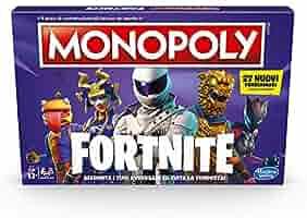 Hasbro Monopoly – Fortnite – Juego en Caja, Temporada 2, edición Italiana: Amazon.es: Juguetes y juegos