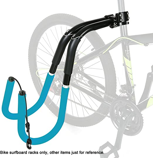 HONGSHENG Bicicleta Tabla De Surf Portaequipajes Asiento De ...