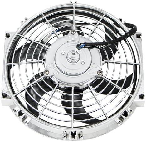 Top Street Performance HC6102C 10 Universal Radiator Fan with S-Blades 120W//850 CFM