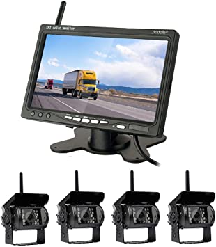 Rückfahrkamera Set Mit 7 Lcd Monitor 120 Elektronik
