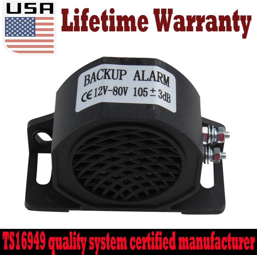 Hot 12 V 102dB Backup Warning Reversing Alarm Beeper Construction Truck US