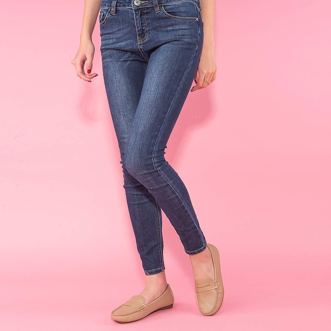 JENN Ardor - Mocasines de Otra Piel para Mujer: Amazon.es: Zapatos y complementos