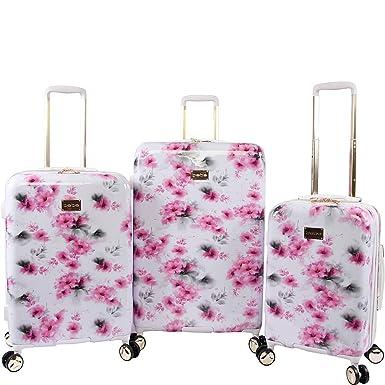 BEBE Women s Juliette 3pc Spinner Suitcase Set a01fc26243