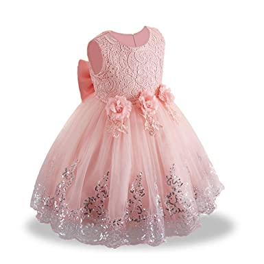 4a942efb0 LZH Bebes Vestido Elegant Princesa Cumpleaños Partido Boda Vestidos cóctel  Ceremonia Vestirse