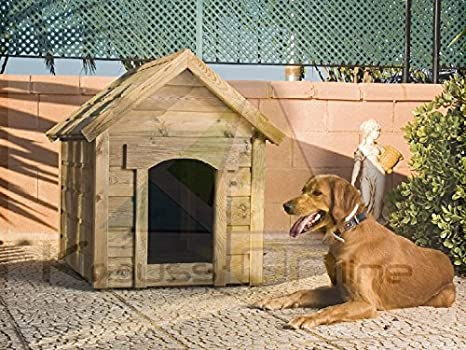 Cuccia Per Cane In Legno Da Giardino Standard Amazon It Fai Da Te