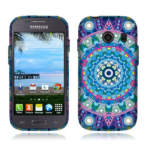 galaxy ace case blue - 7