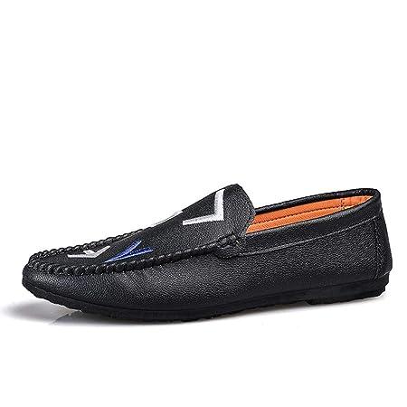 YUNLI Mocasines Informales para Hombres - Zapatillas de ...