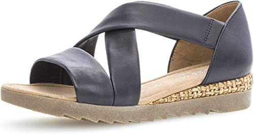 Gabor Sandalette blau um 42% reduziert   Markenschuhe