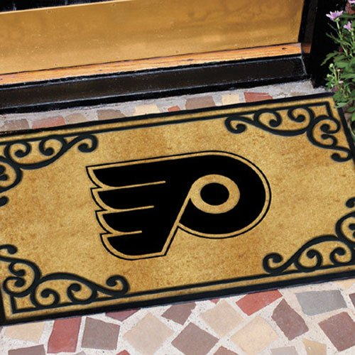 Coir Nhl Door Mat - The Memory Company NHL Philadelphia Flyers Door Mat
