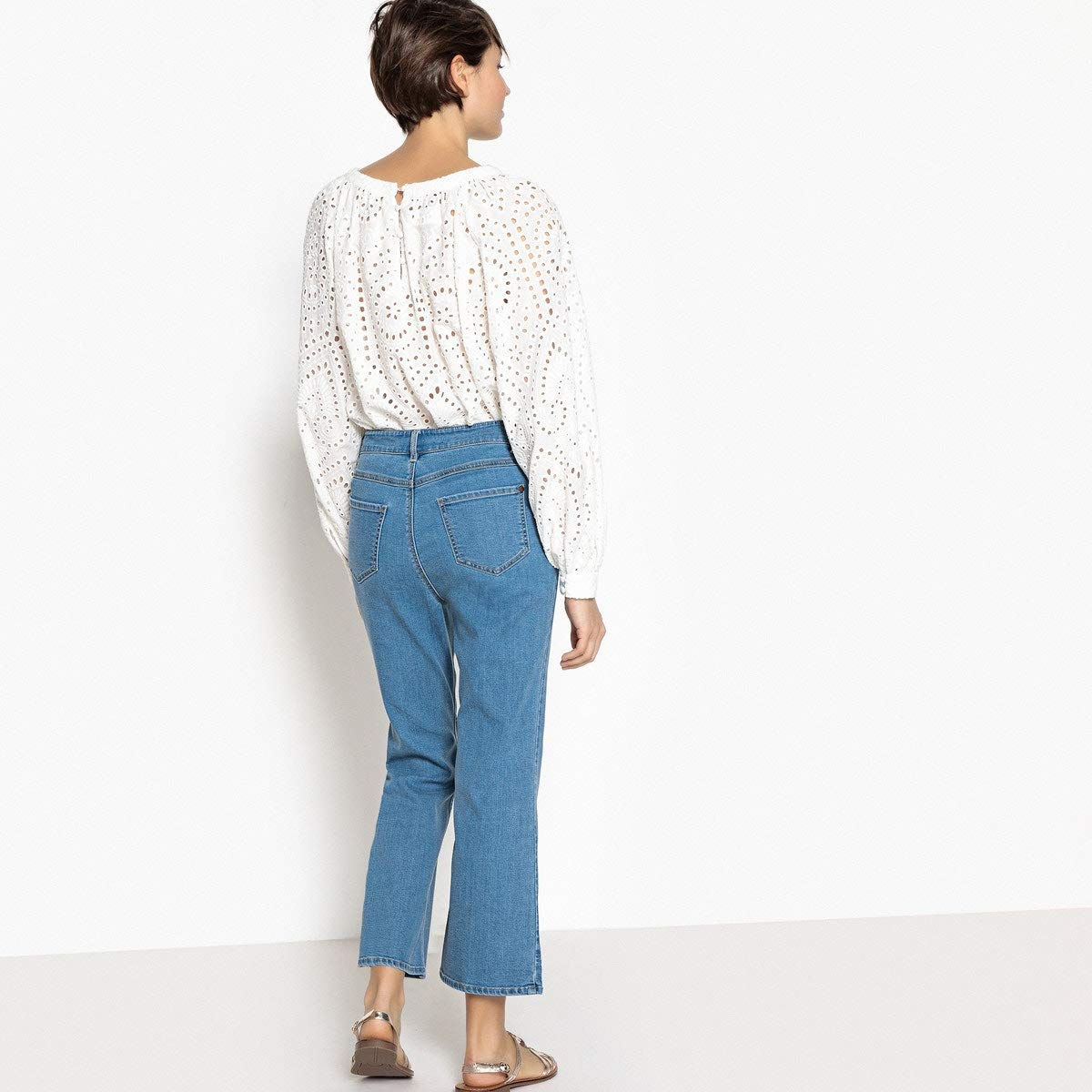 Length 25.5 La Redoute Uniross Womens Flared Jeans