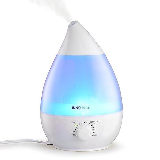 151 opinioni per 2,4 litri Ultrasuoni Freddo Mist Umidificatore Con Fltro- 7 Luci Di Colore LED,