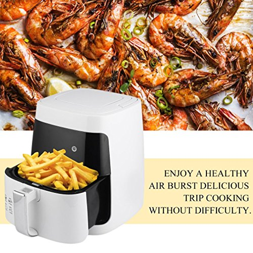 Homgrace Air Fryer, 2.5L Smokeless Electric Air Fryer Non-stick Fryer French Fries Machine 220V by Homgrace (Image #3)