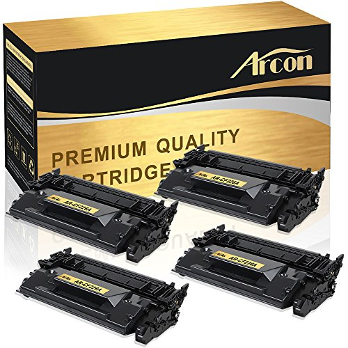 Arcon 26A 4 Packs Compatible for HP 26A CF226A Toner Cartrid