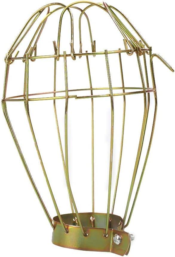 PMWLKJ Pantalla extraíble para la cobertura de la lámpara La decoración interior para los reptiles domésticos proporciona protección para las lámparas térmicas cerámicas
