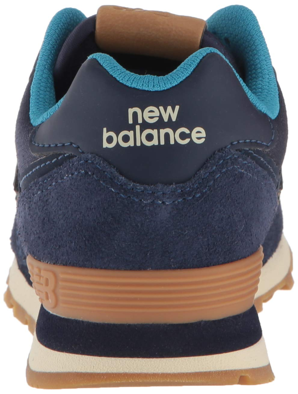 New Balance Boys' Iconic 574 Sneaker Pigment/Cadet 10 M US Toddler by New Balance (Image #2)