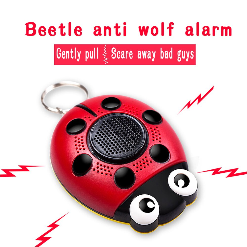 Kyson Personal Alarm Keychain130dB Self Defense SOS Emergency Human Voice Safety Sirens for Women/Elderly /Kids/Adventurer/Night Workers/Explorer with Flashlight Speaker Function by Kyson (Image #2)