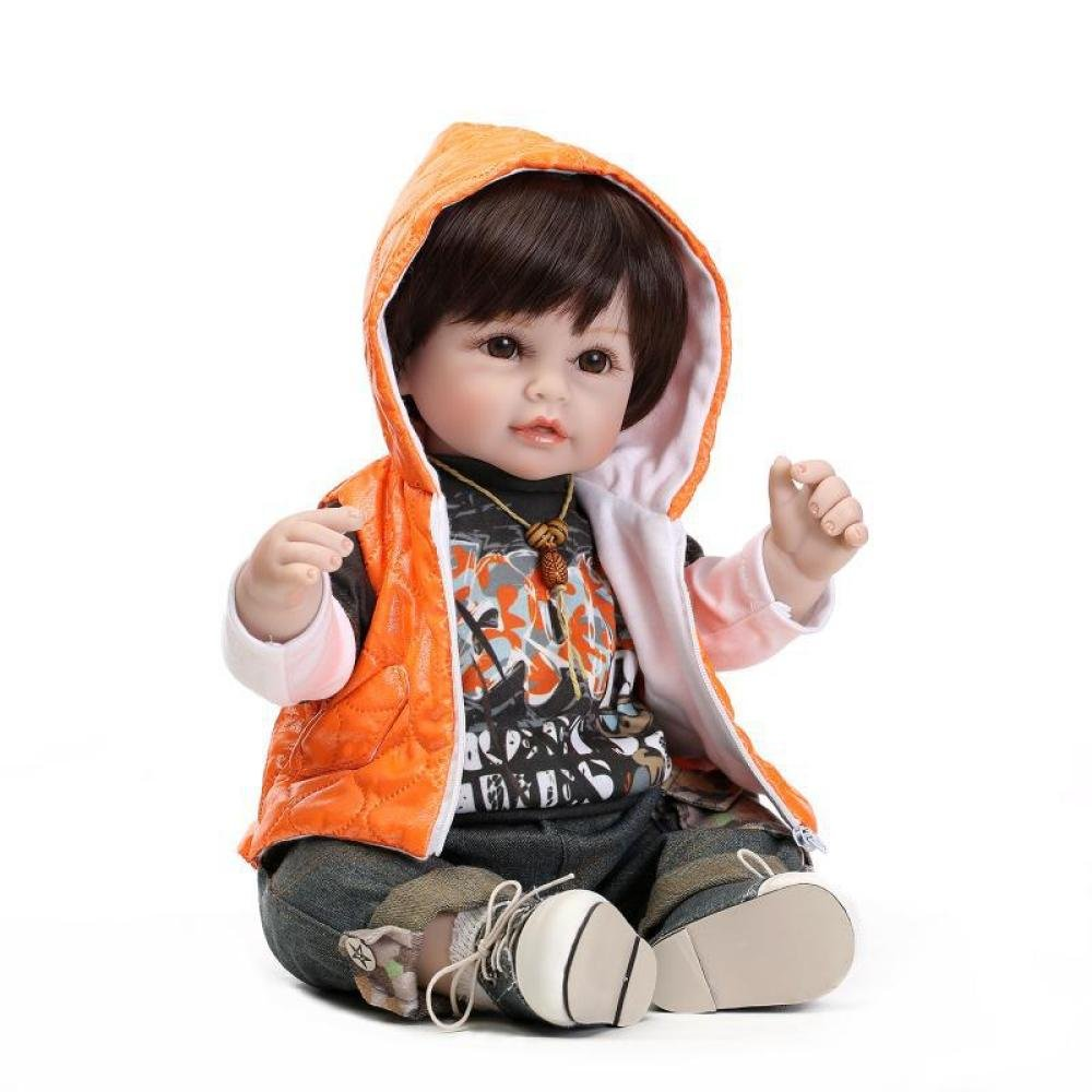 QXMEI Toy Doll Simulation Boy Doll Regalo Creativo Creativo Creativo 40930b
