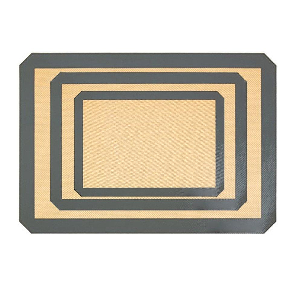 Athli Multifunctional Non-Stick Silicone Baking Mat Set Food Rade Silicone Baking Tray BBQ Barbecue mat