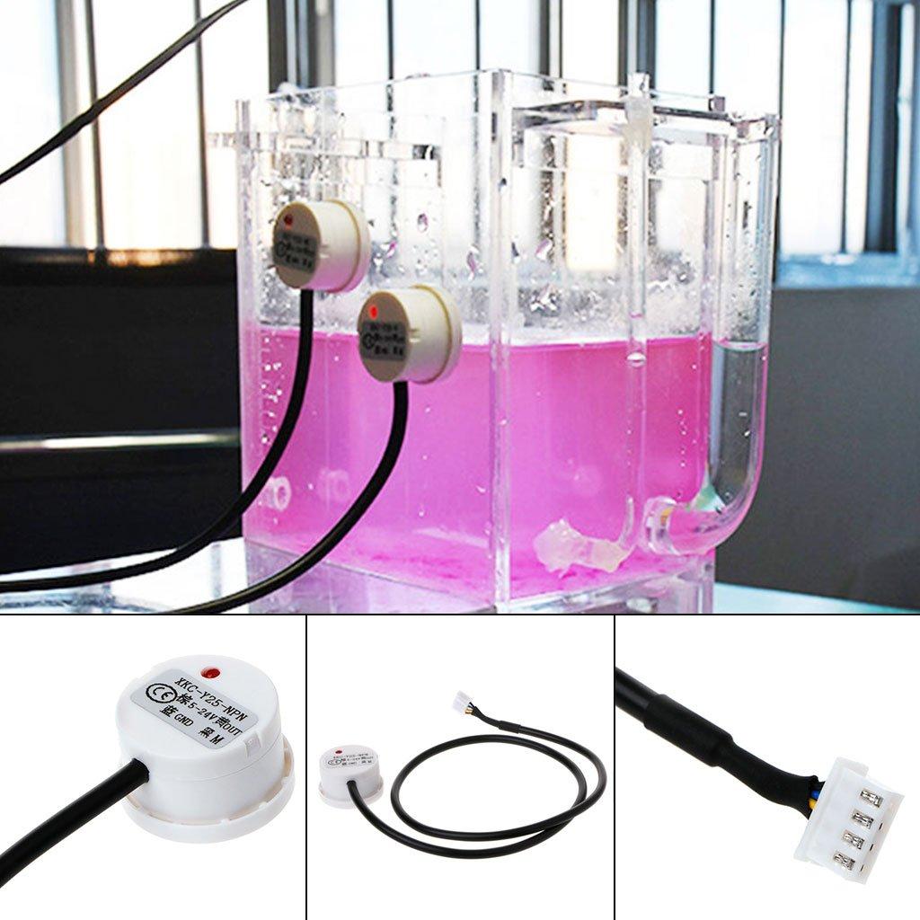 Zzqyis Sensor de Nivel de Líquido sin Contacto XKC-Y25-NPN Sensor de Nivel de Agua Inteligente Interruptor de Nivel de Inducción,5~24V: Amazon.es: Industria ...