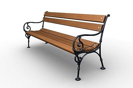 Panchine Da Giardino In Ghisa : Sellon panchina da giardino in legno di pino massiccio in