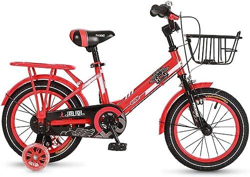 TSDS Bicicleta Infantil Bicicleta roja/Azul/Amarilla de Moda Bicicleta de montaña de 12 Pulgadas para Bicicletas al Aire Libre (Color : E): Amazon.es: Deportes y aire libre