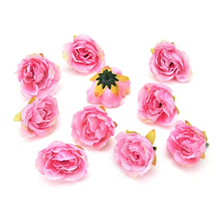 Amazon Artificial Flower Heads In Bulk Wholesale For Crafts