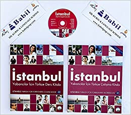 Turkish a1 for foreigners istanbul beginner course book with audio flip to back flip to front m4hsunfo