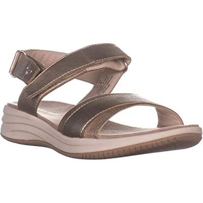 Easy Spirit Womens Draco3 Casual Ankle Strap Wedge Sandals | Platforms & Wedges
