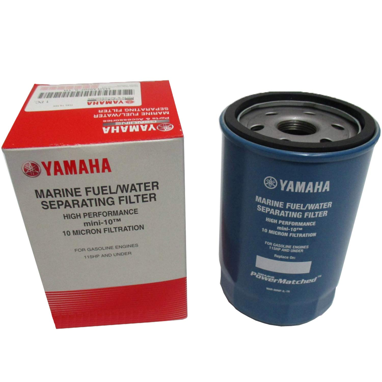 OEM Yamaha Mini-10 10-Micron Fuel/Water Separating Filter Only MAR-MINIF-IL-TR