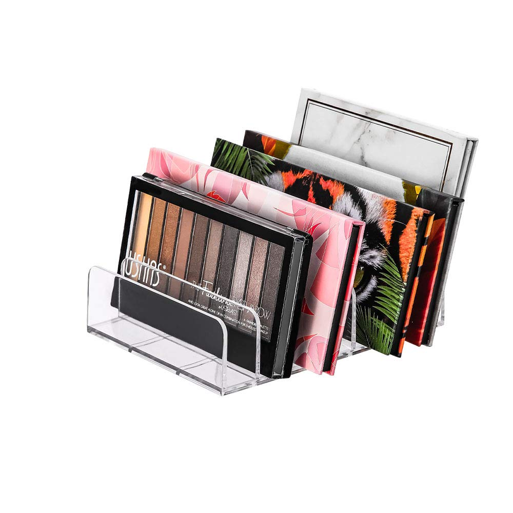 Eyeshadow Palettes Acrylic Makeup Organizer – Eyeshadow Palette Cosmetic Organizer Eyeshadow Eyeshadow Palettes Makeup Organizer (1Pack-Large)