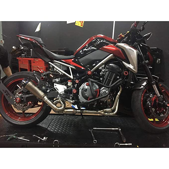 JFG RACING - Sistema de Escape de Motocicleta para Kawasaki ...