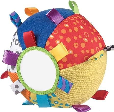 Playgro 40079 - Mi primera pelota de peluche Loopy Loops: Amazon ...