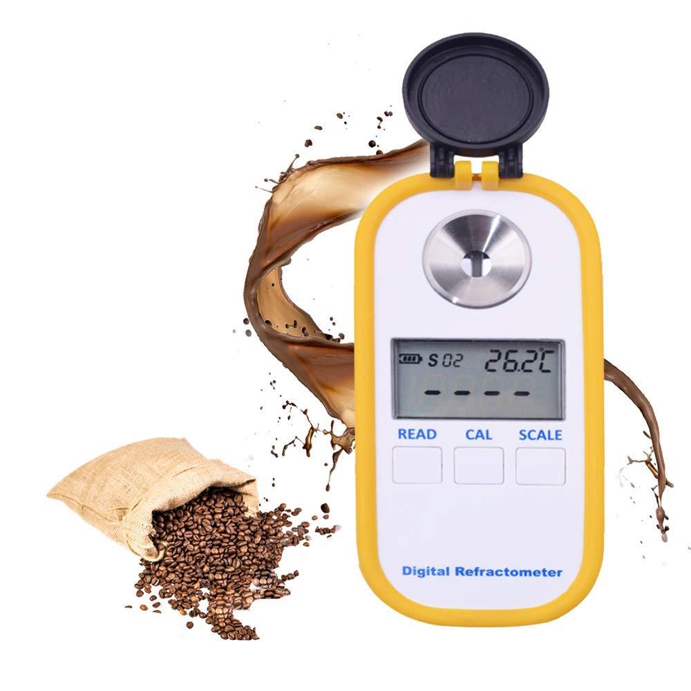 Refractómetro Digital para Azucar Contador de Densidad Brix TDS Medidor 0-50% de Azúcar