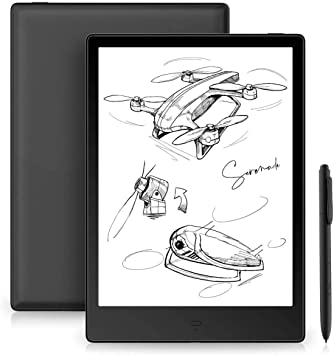 "Likebook Alita E-Reader, 10.3"" Eink Mobius Flexible HD Screen, Dual Touch, Hand Writing, Built-in Cold/Warm Light, Built-in Audible, Android 6.0, Octa Core Processor, 4GB+32GB (10.3): Amazon.es: Electrónica"