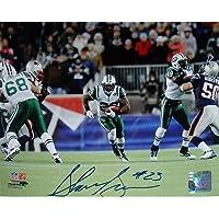 Steiner Sports NFL New York Jets Shonn Greene 20 Yard Run vs. Patriots fotografía Horizontal