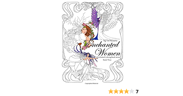 - Amazon.com: Enchanted Women Coloring Book (Enchanted Coloring Books)  (Volume 3) (9781544820071): Rosario, Teri: Books