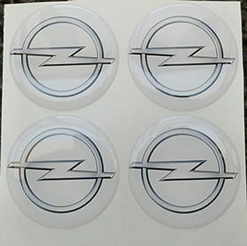 Opel 60 mm blanco Tuning Efecto 3d 3 m resinato coprimozzi ...