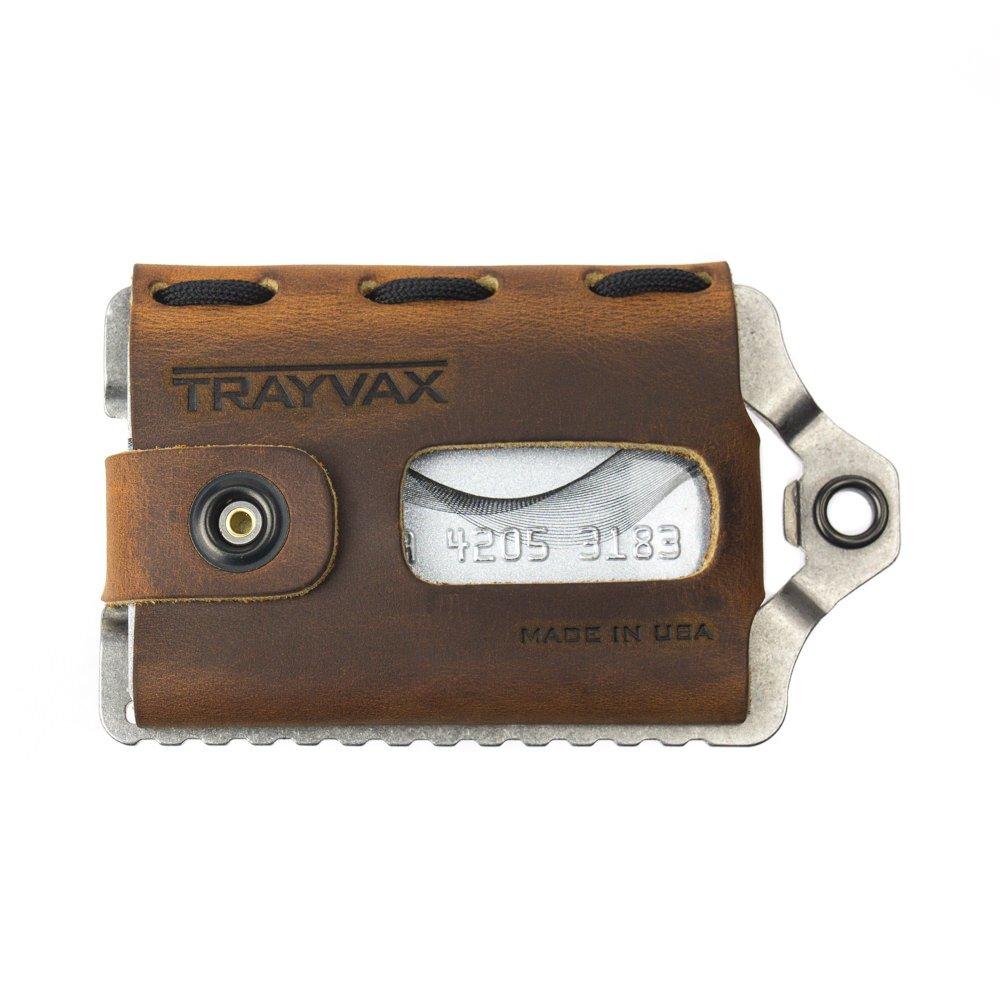 Trayvax ACCESSORY メンズ B01D7UQ19S Tobacco Brown Tobacco Brown