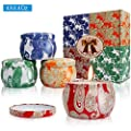 Y YUEGANG Scented Candles Gift Set 4 Pack