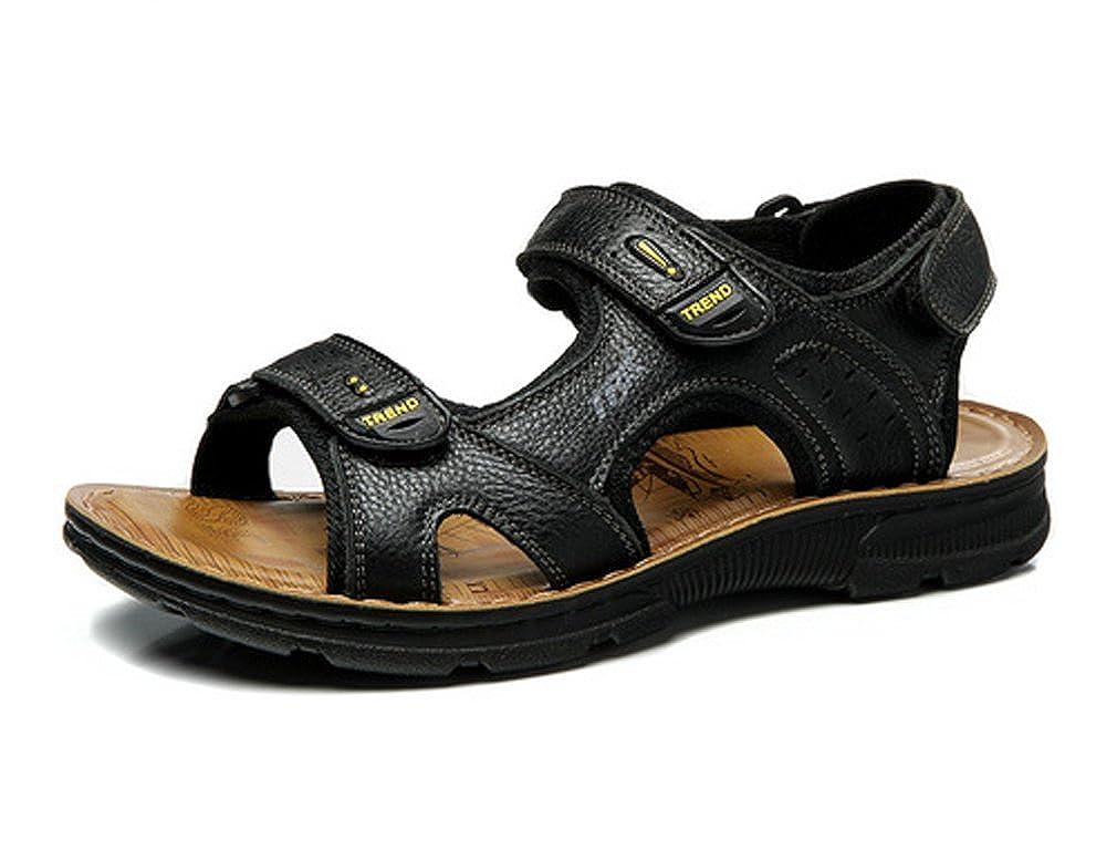 messieurs et mesdames ubca-tba summer les rétro sandales hommes les summer sandales en cuir chaussures de plage crochet boucle prix marché coûte moins cher que le mode wr5656 dynam ique 6f42d1