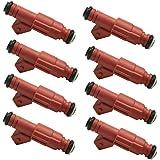 30LB FORD 4.6L 5.4L 7.4L 454  CHEVY GMC BOSCH FUEL INJECTORS UPGRADE SET OF 8