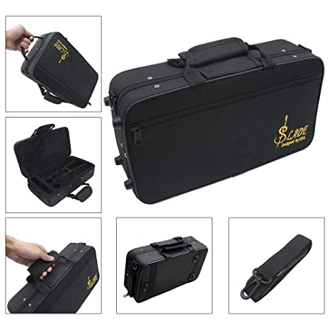Amazon.com: Volwco Clarinet Case Bag,Water-Resistant Oxford ...