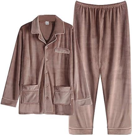 AAAbath Los Hombres De Pijamas Set Otoño Invierno Simple ...
