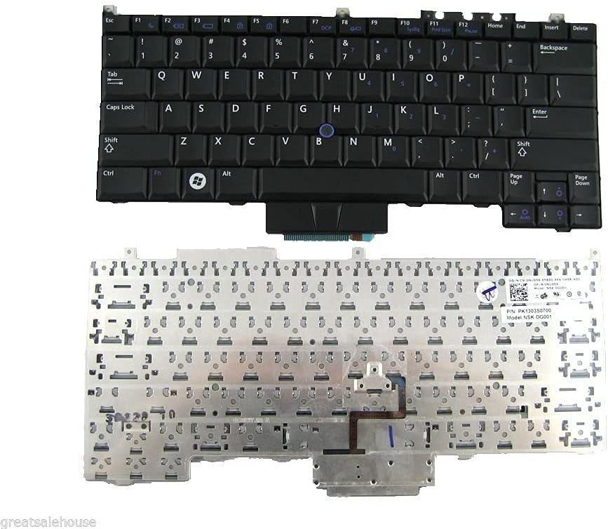 Ellenbogenorthese-LQ New Non-babklit US Keyboard Compatible with Dell Latitude E4300 NU956 0NU956 9J.N0X82.001