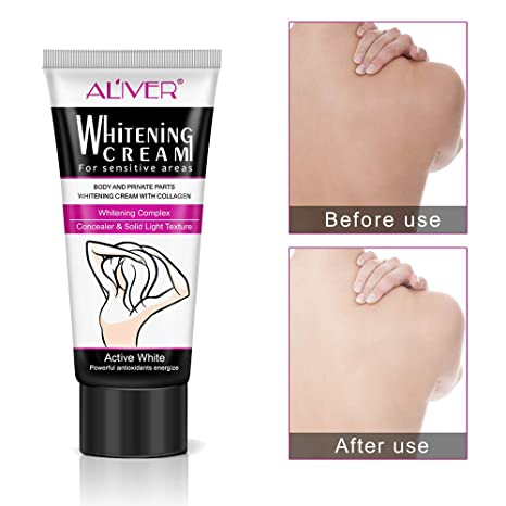 50ml Beauty Body Cream Armpit Whitening Cream Between Legs Knees Private Parts Underarm Whitening Formula Armpit Whitener Hot!!! Bath & Shower Beauty & Health