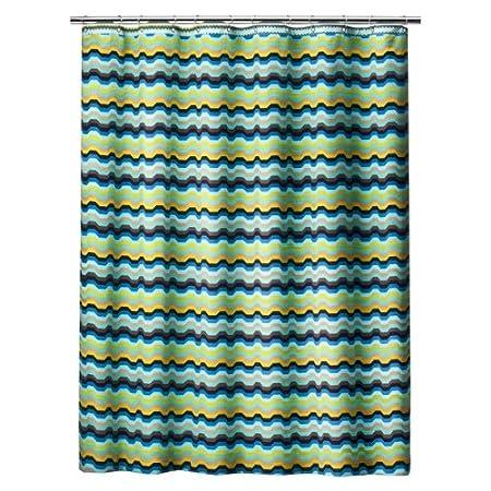 Missoni For Target Zig Zag Via Chevron Reversible Shower Curtain Amazoncouk Kitchen Home