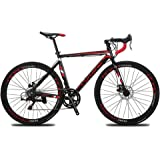 Cyrusher XC760 Races Road Bike Commuting Cycling 52cm Aluminium Frame 14 Speed 700C Shimano Shifting System Disc Brakes