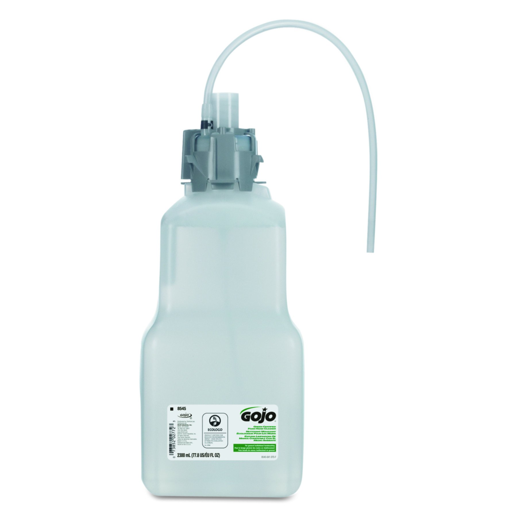GOJO 854504 CX & CXI Green Certified Foam Hand Cleaner, Unscented, 2300mL Refill (Case of 4) by Gojo