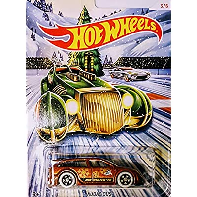 Hot Wheels 2020 Holiday Hot Rods Complete Set of 6: Toys & Games